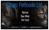 Otago Petfoods Business Card Logo